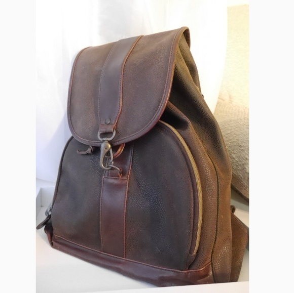 ee3d1e306b50 M 5c5a4f30035cf1de474df334. Other Bags you may like. 90 s Vintage  Minimalist Chic Faux Leather Backpack